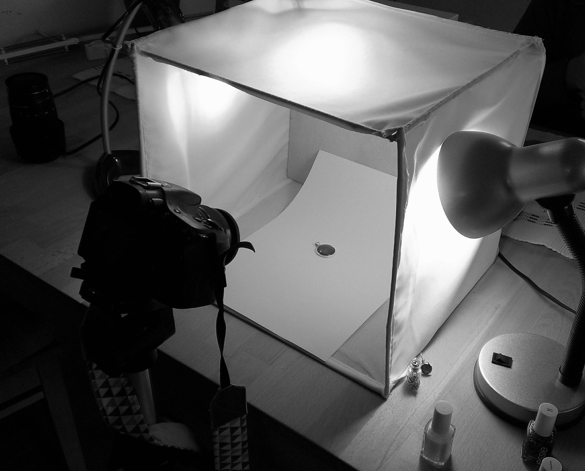 Die selbstgebaute Fotobox
